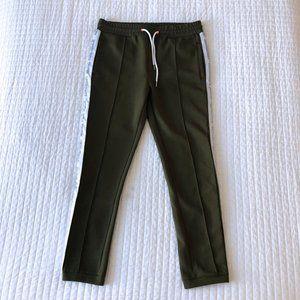 New Regime Warm Up Pants Green